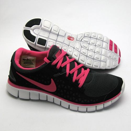 Nike Free Pink Schwarz