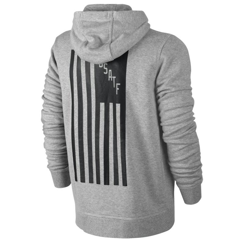 Nike AW77 RU USATF FZ Hoody Freizeit Jacken bei