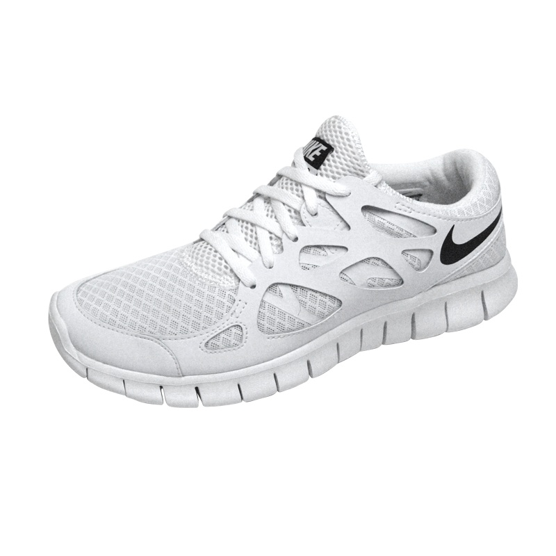 nike free 2 weiss