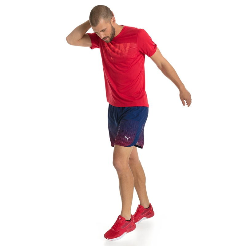 Pace Puma 7 Running Inch Graphic Shorts Aw1Hn4wq