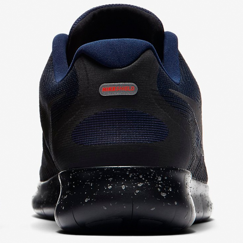 Neu Nike Free RN 2017 Shield Schwarz, Runnerinn billig Nike