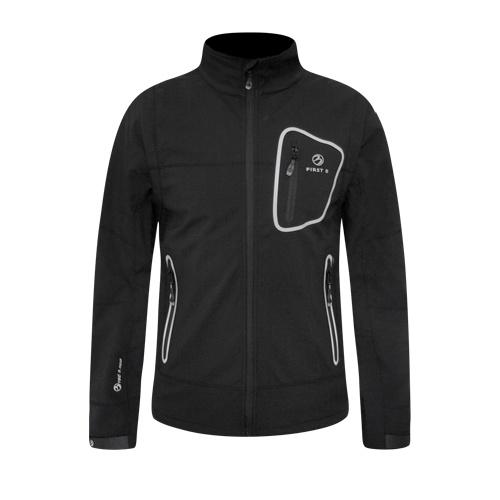 first b percy softshell jacket schwarz outdoor jacken. Black Bedroom Furniture Sets. Home Design Ideas