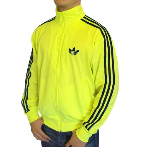 adidas firebird tt jacke tracktop neongelb,adidas firebirdtt