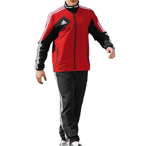 adidas trainingsanzug herren schwarz rot. Black Bedroom Furniture Sets. Home Design Ideas