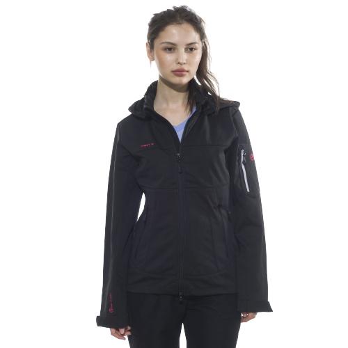 first b daria softshell jacket women schwarz outdoor. Black Bedroom Furniture Sets. Home Design Ideas