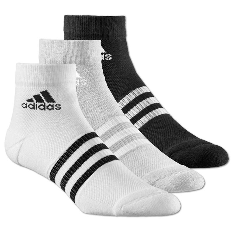 adidas clima 3s ankle tc socks 3pp weiss fitness socken. Black Bedroom Furniture Sets. Home Design Ideas