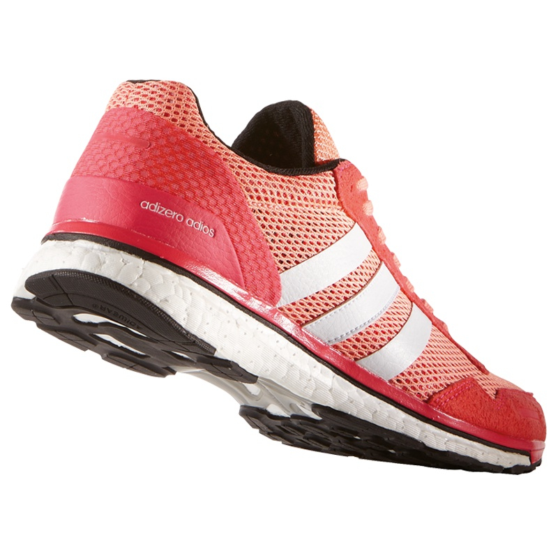 adidas adizero adios boost 3 women pink running schuhe bei af6567. Black Bedroom Furniture Sets. Home Design Ideas