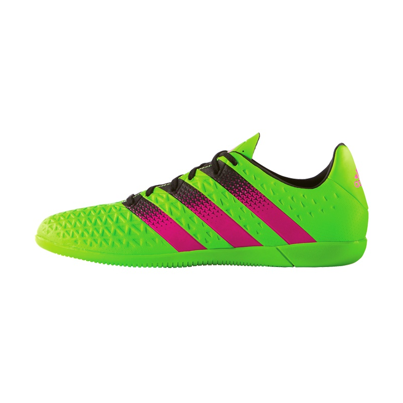 adidas ace 16 3 in gruen fussball hallenschuhe bei www. Black Bedroom Furniture Sets. Home Design Ideas