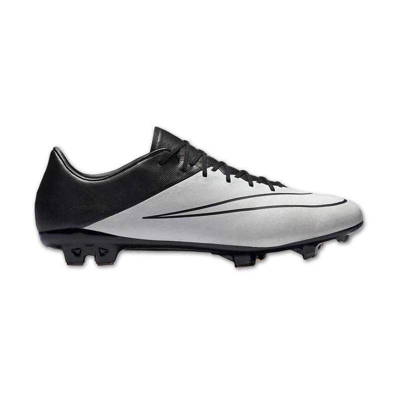 Nike mercurial vapor x leather fg weiss fussball schuhe for Nike mercurial vapor 11 tech craft