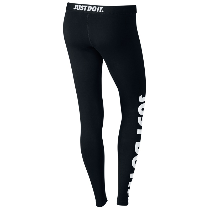 nike leg a see just do it leggings women schwarz freizeit hosen bei 726085 010. Black Bedroom Furniture Sets. Home Design Ideas