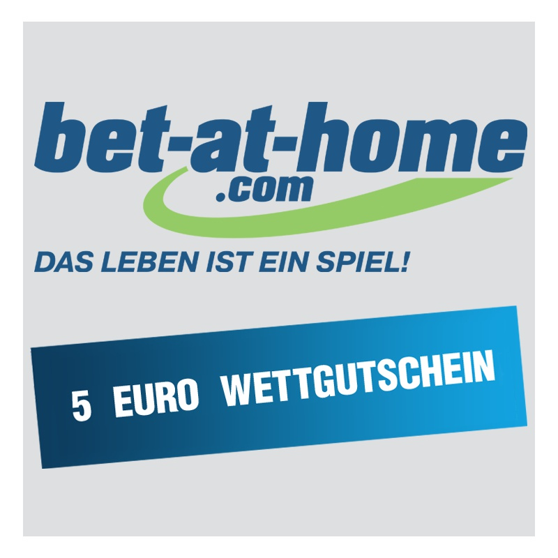 gutschein bet at home 5 euro