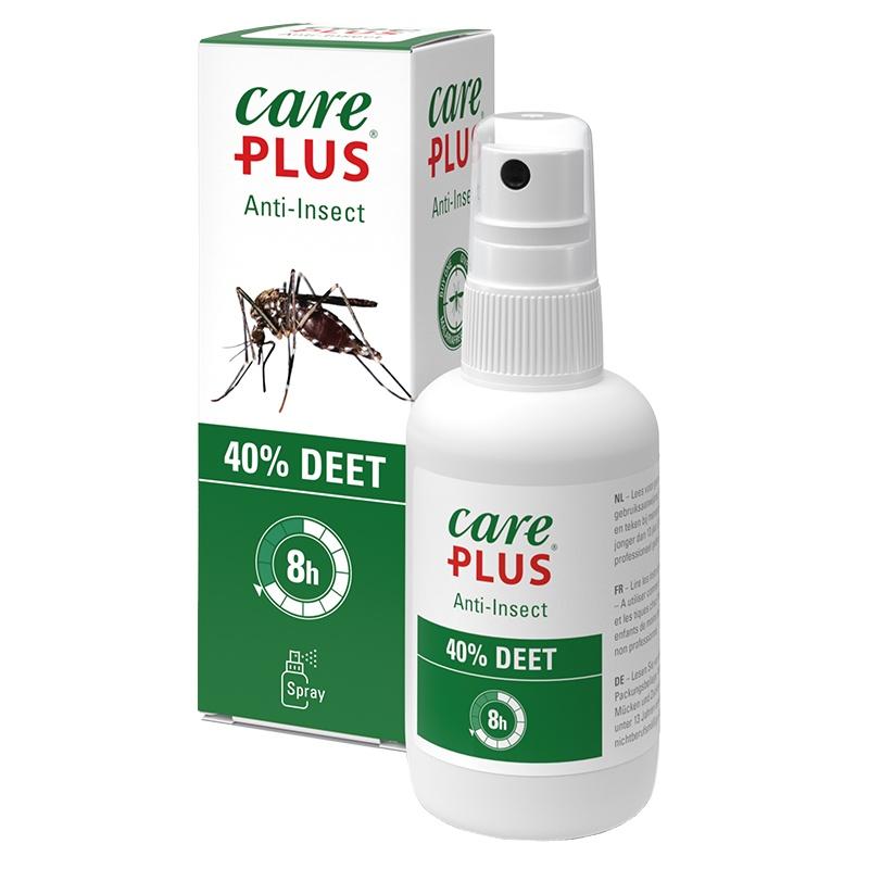 CarePlus | DEET Spray 40% | Tropenfit.de | Moskitomittel