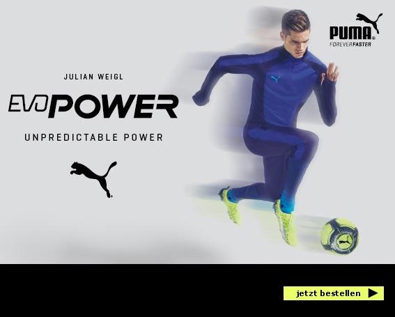 Puma evoPOWER - blau & gelb
