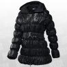 Down Long Hooded Jacket Women