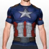 Alter Ego Cpt. America Suit Compression SS Te
