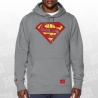 Retro Superman Triblend Hoody