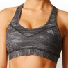 Techfit Heather Print Padded Bra Women