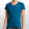 Dry Miler V-Neck SS Top Women