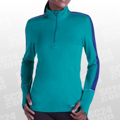 Essential Run LS 1/2 Zip II Women
