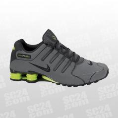 Nike Shox Grau Silber