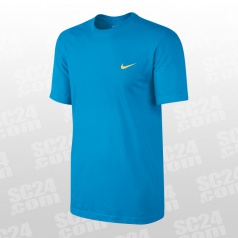 Embroidered Swoosh Tee