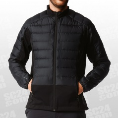 Hybrid Down Hooded Jacket
