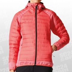 Hybrid Down Hooded Jacket Women