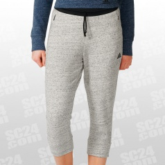 Cotton Fleece 3/4 Pant Women