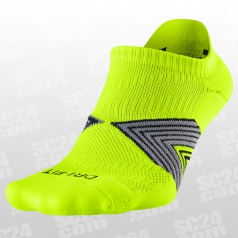 Run Cushion Dynamic Arch No Show Socks