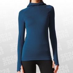 Seamless Climaheat Hooded Longsleeve Women