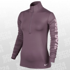 Pro Warm Logo LS Top HZ Women