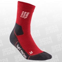 Outdoor Light Merino Mid-Cut Socks