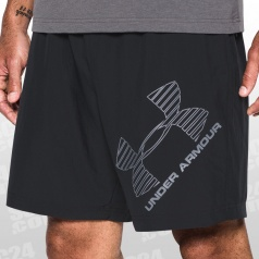 Graphic 8 Inch Woven Short