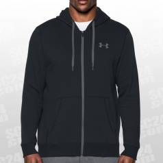 Rival Fitted Fleece Full Zip Hoodie