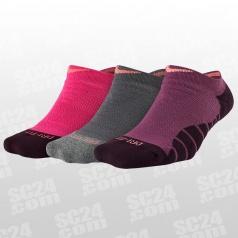 Dry Cushioned No-Show Socks 3PPK Women