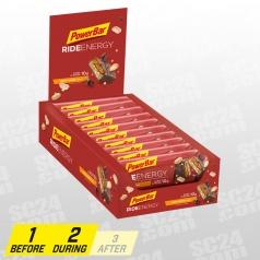 Ride Energy Peanut-Caramel 18x55g