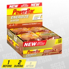 Energize Wafer Chocolate Peanut 12x40g