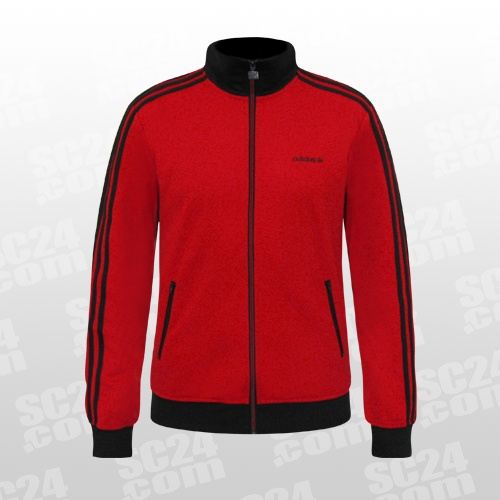 adidas beckenbauer jacke rot. Black Bedroom Furniture Sets. Home Design Ideas