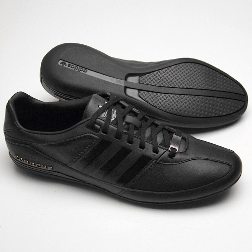 adidas porsche typ 64 schwarz freizeit schuhe bei www. Black Bedroom Furniture Sets. Home Design Ideas