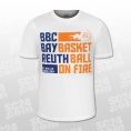 BBC Bayreuth Basketball on Fire Tee