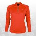 Base Zip LS Shirt Women