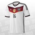 Gewinner DFB Home Jersey 2014 Lahm