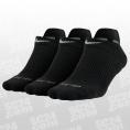 3PPK Dri-Fit Cotton Cush No Show Socks Women