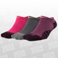 Dry Cushioned No-Show Socks 3PPK Women