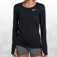 Pro All Over Mesh LS Top Women