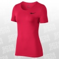 Pro All Over Mesh SS Top Women