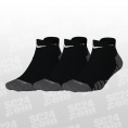 Dry Cushioned Low Socks 3PPK Women