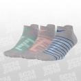 Dry Cushioned GFX Low Socks 3PPK Women