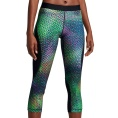 Pro Hypercool Kaleidoskop Graphic Capri Women