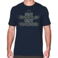 Out Hustle Out Work SS Tee